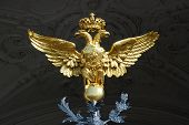 foto of zar  - The double heade eagle symbol of Russia - JPG