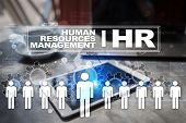 Human Resource Management, Hr, Recruitment, Leadership And Teambuilding. poster
