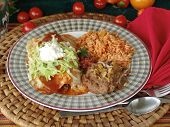 stock photo of mexican food  - image of delicious mexican food - JPG