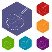 Disinfection Icon. Outline Illustration Of Disinfection Vector Icon For Web poster