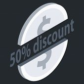 Special Offer Sale Tag Isolated Vector Illustration. Discount Offer Price Label, Symbol For Advertis poster