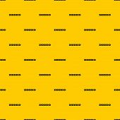 Step By Step Infographic Pattern Seamless Vector Repeat Geometric Yellow For Any Design poster