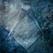 foto of freemason  - freemason symbol on a grunge like background - JPG