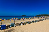 Kata Noi beach Exotic Bay in Phuket island Thailand