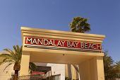 Mandalay Beach In Las Vegas, Nv On April 19, 2013