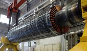foto of rotor plane  - Rotor machine at a workshop - JPG