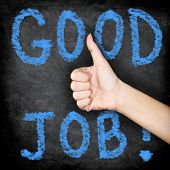 image of job well done  - Good job  - JPG