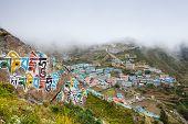 foto of sherpa  - Namche Bazar  - JPG