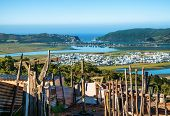 picture of poverty  - Taken from the poverty stricken township of Knysna in South Africa - JPG