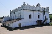 stock photo of synagogue  - Shargorod Synagogue built in 1589 - JPG