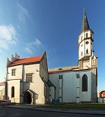 Church In Levoca Town - Slovakia