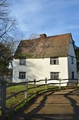 picture of willy  - Back of willy  lotts cottage suffolk east anglia - JPG