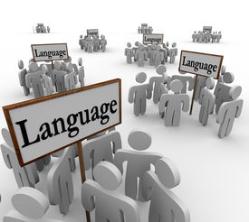 picture of dialect  - Language Word Signs Diverse Groups People Culture - JPG