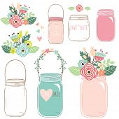 pic of mason  - Flower Mason Jar - JPG