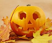 foto of jack-o-lantern  - Pumpkin Jack - JPG