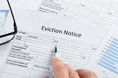 image of eviction  - Close - JPG