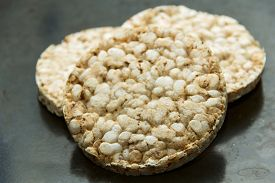 stock photo of decomposition  - rice cakes  - JPG