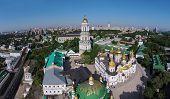 foto of kiev  - aerial view of Kiev - JPG