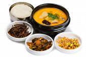 stock photo of korean  - Soup chicken with potatoes - JPG