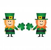 St Patricks Day Leprechauns