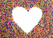 pic of jimmy  - sweets in the shape of a heart - JPG