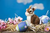 Easter Greeting Card. poster