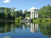 pic of ekaterinburg  - historical pond in ekaterinburg - JPG