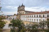 The Alcobaca Monastery Is A Mediaeval Roman Catholic Monastery Located In The Town Of Alcobaca, Port poster
