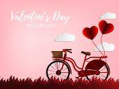 Valentines Day Background. poster