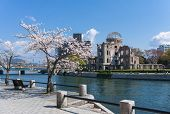 The A-bomb Dome Also Known As The Hiroshima Peace Memorial Is What Remains Of The Former Prefectural poster
