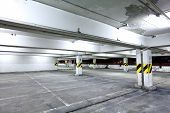 stock photo of parking lot  - parking garage - JPG