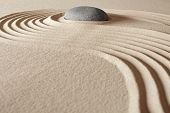 zen buddhism meditation and relaxation japanese garden concept for balance harmony and purity pebble