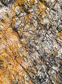 Texture Of Rocks. Gray Mountain Rocks Background. Gray Rock Texture. Rough Structure. Rock Backgroun poster