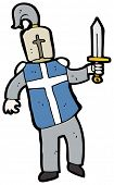 picture of arthurian  - cartoon knight - JPG