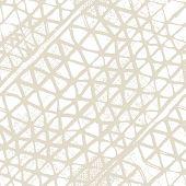 Shibori Seamless Pattern. Tie Dye Abstract Texture. Watercolor Shoji Design. Kimono Tile.  Beige And poster