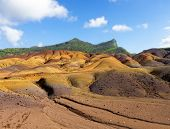 image of chamarel  - Chamarel Land of Seven Coloured Earths Mauritius - JPG