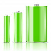 Green battery range.