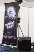Tribute To Rockets Banner At Robot And Makers Show
