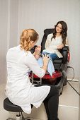 stock photo of callus  - Photoset at hair and spa salon - JPG