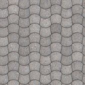 stock photo of trapezoid  - Gray Pavement  - JPG