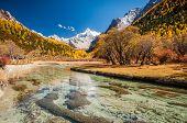 stock photo of tourist-spot  - Daocheng Sichuan China  - JPG