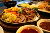 picture of nuong  - Vietnamese food in Thailand restuarant in Chiang Mai