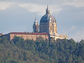 image of turin  - Basilica di Superga church on the Turin hill Italy - JPG