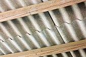 image of asbestos  - asbestos cement panels  - JPG