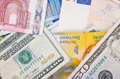 stock photo of currency  - More types od currencies - JPG