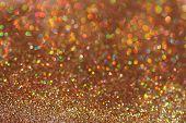 image of gold nugget  - Gold nuggets sparkling carpet - JPG