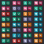 foto of arcade  - Flat game icons buttons icons - JPG