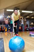 image of bowling ball  - people - JPG