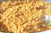 stock photo of lint  - lentils  - JPG