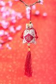 stock photo of chinese new year horse  - Traditional chinese knot - JPG